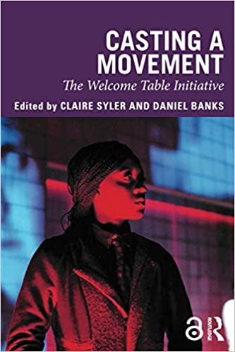 Book Cover - Picture of black person under red lighting